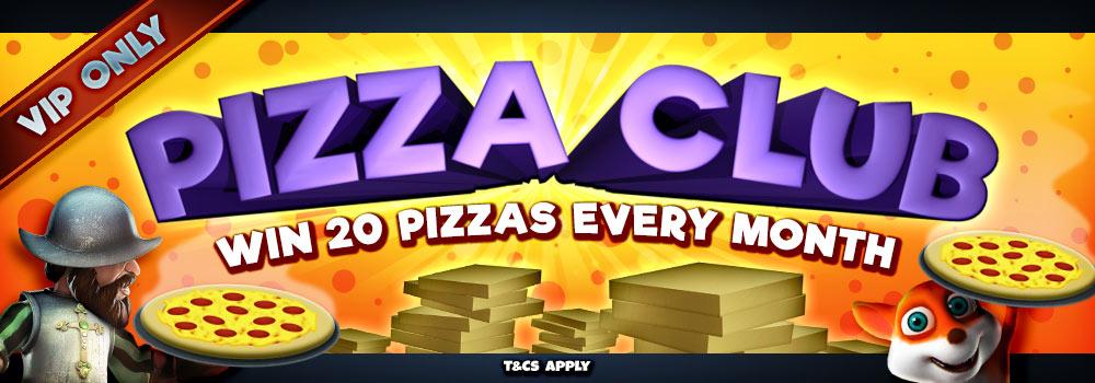 Win Free Pizza every Sunday
